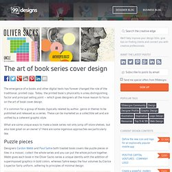 The art of book cover design for a series