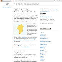 The Book Design Review