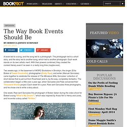 The Way Book Events Should Be