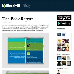 Blog – Readmill - The Book Report