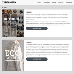 The Books | Eco Fashion Talk