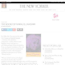 The Books of Nawal El Saadawi