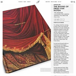 THE BOOKS OF DRIES VAN NOTEN