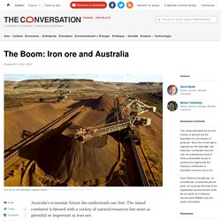 The Boom: Iron ore and Australia