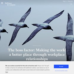 The boss factor