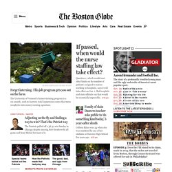 The Boston Globe Online