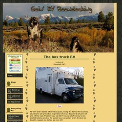 The box truck RV