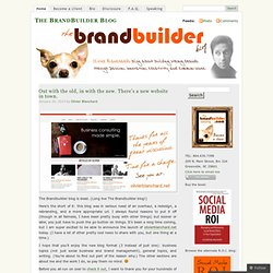 The BrandBuilder Blog