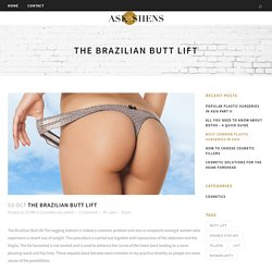 The Brazilian Butt lift