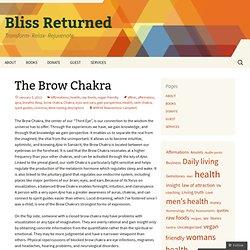 The Brow Chakra