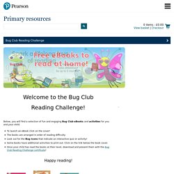The Bug Club Reading Challenge