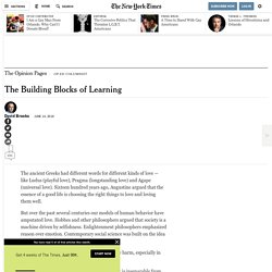 The Building Blocks of Learning