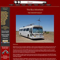 The Bus Conversion Adventure