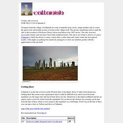 The Callanish Stones - M E g A L i T h i A - Scotland