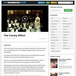 The Canary Effect