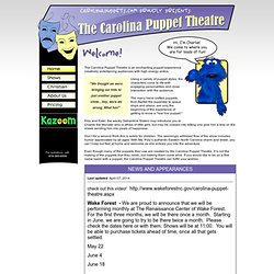 The Carolina Puppet Theatre