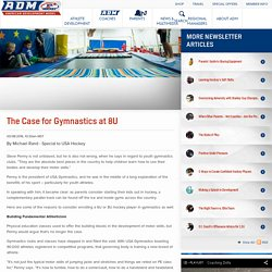 The Case for Gymnastics at 8U
