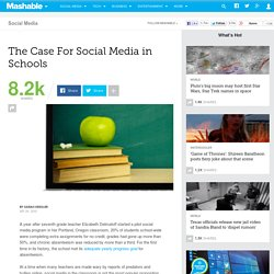 The Case For Social Media in Schools
