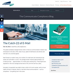 The Catch-22 of E-Mail