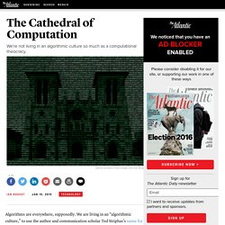 The Cathedral of Computation