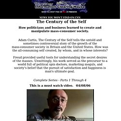 The Century of the Self - Part 1