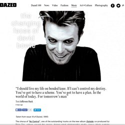 The Changing Faces of David Bowie