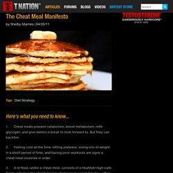 The Cheat Meal Manifesto