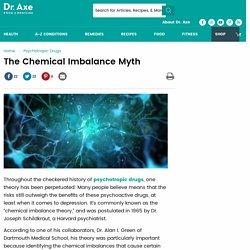 The Chemical Imbalance Myth