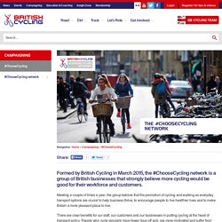 The #ChooseCycling Network