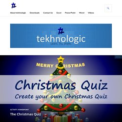 The Christmas Quiz – tekhnologic