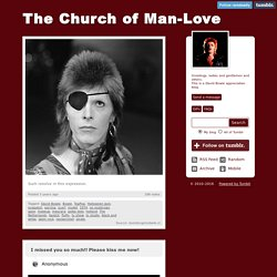 The Church of Man-Love