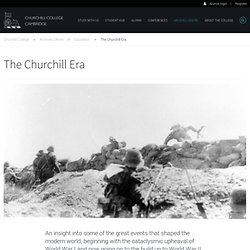 The Churchill Era: An Educational Resource