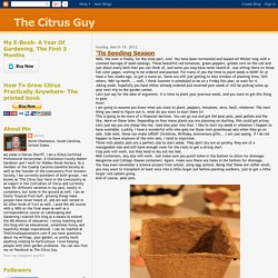 The Citrus Guy: March 2012