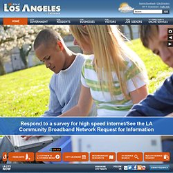 The Official Web Site of The City of Los Angeles - Home