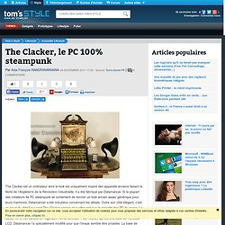 The Clacker, le PC 100% steampunk