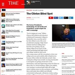 The Clinton Blind Spot