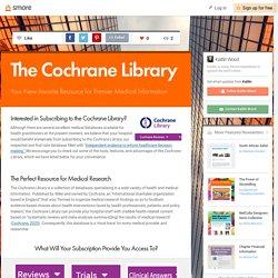 The Cochrane Library (Kaitlin)