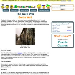 The Cold War for Kids: Berlin Wall