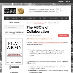The ABC's of Collaboration