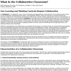 The Collaborative Classroom