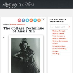 The Collage Technique of Anais Nin