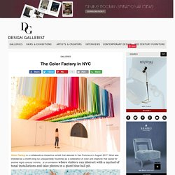The Color Factory in NYC