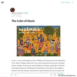 2016/01 [Medium] The Color of Music – Medium