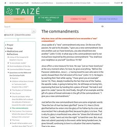 The commandments - Taizé