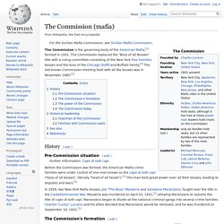 The Commission (mafia) - Wikipedia