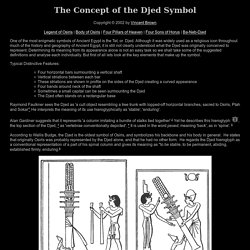 The Concept of the Djed Pillar