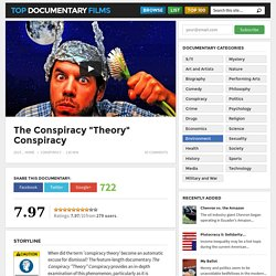 "The Conspiracy ""Theory"" Conspiracy"