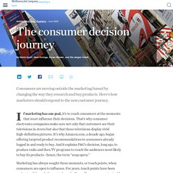 The consumer decision journey