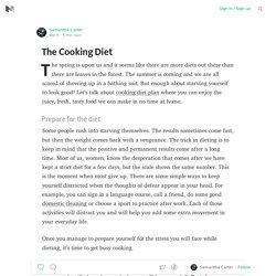 The Cooking Diet