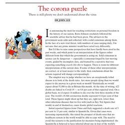 The corona puzzle